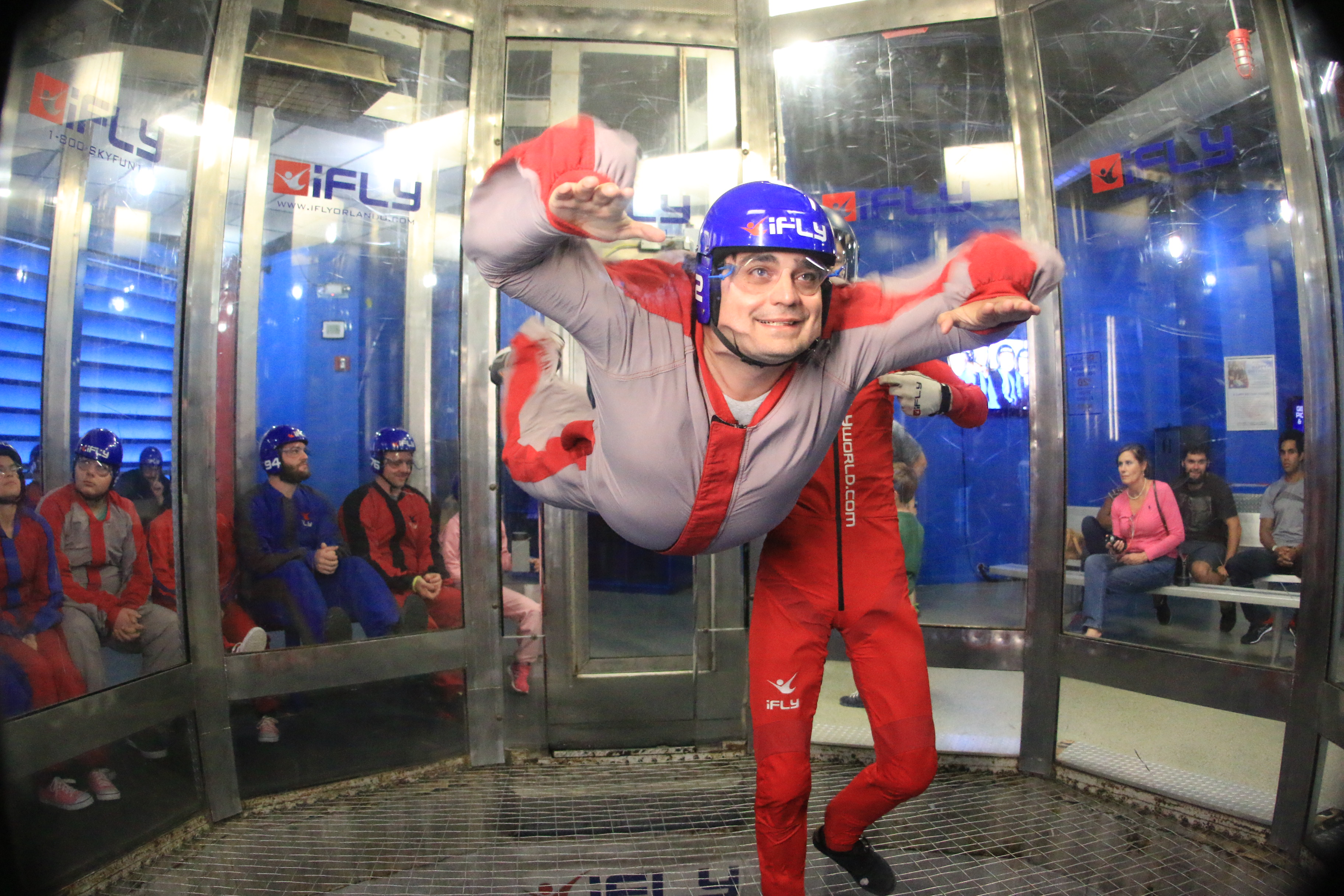 Indoor Skydiving at iFly Orlando - Review and Tips