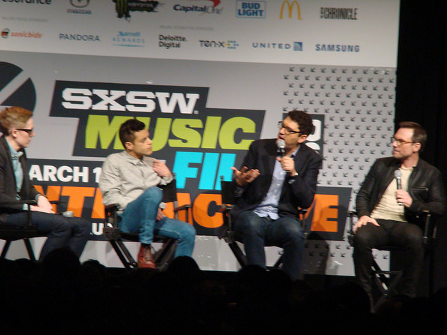 SXSW 2015 Review Sam Esmail Rami Malek Christian Slater Mr Robot