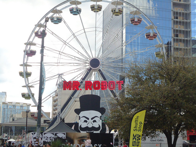 Mr Robot Ferris Wheel SXSW 2016