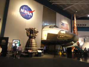 Visiting NASA Space Center in Houston, Texas