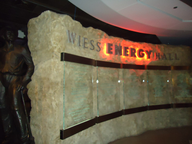 Wiess Energy Hall Houston Museum Natural Science