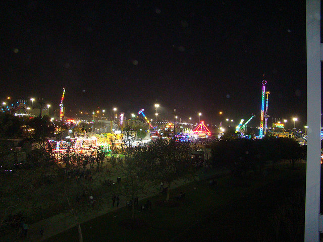 Houston Livestock Show and Rodeo fair complex