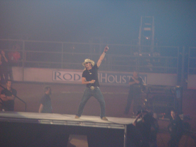 Kid Rock Show at the Houston Livestock Show and Rodeo
