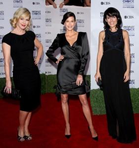 Back in Black: Jennie Garth, Teri Hatcher and Lisa Edelstein in People´s Choice Awards Gala