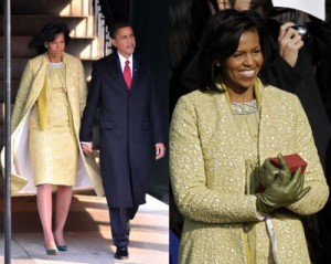The clothes of Michelle Obama: Fashion Autopsy on Inaugural Day