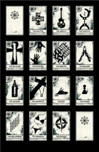 Lost props: Lost Tarot cards