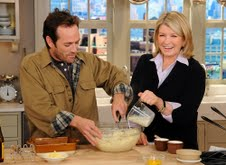 Martha Stewart Show with Luke Perry recap and quotes