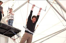 Nate Berkus Monday Spoiler: He goes on trapeze class