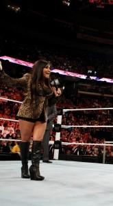 Snooki on Wrestlemania April 3