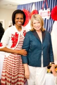 Martha Stewart with Michelle Obama and Jill Biden in Mother´s Day Special on Hallmark