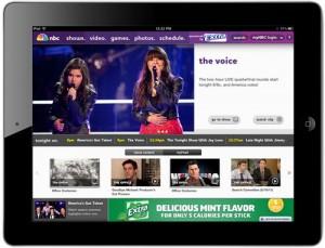 NBC.com app for iPad launched