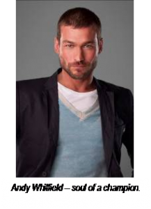 Starz to air tribute to Andy Whitfield October 2nd
