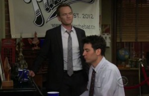 How I Met Your Mother: Puzzles theme song from Ted and Barneys bar #HIMYM