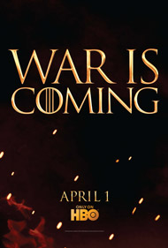 Game of Thrones second season premieres April 1 on HBO: Posters and Trailer Video