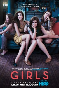Girls Official Poster Released by HBO – Premieres April 15 – Videos and Synopsis