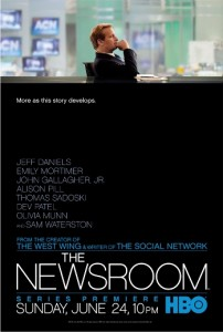 The Newsroom on HBO with Jeff Daniels premieres June 24