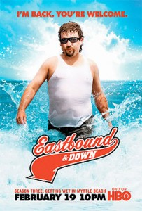 Cancelled and Renewed Shows 2012: HBO renews Eastbound Down for season four