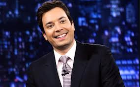 Jimmy Fallon does Late Night without live audience but one member because of #Sandy