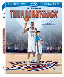 Thunderstruck with Kevin Durant Blu-Ray Giveaway
