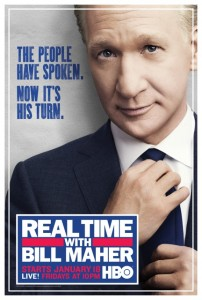 Real Time with Bill Maher sets premiere date for January 18th on HBO
