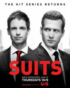 Suits Season 2.5 Premiere Contest and Giveaway!