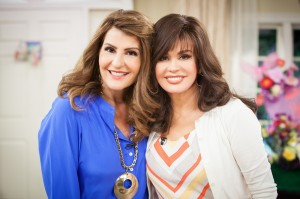 Nia Vardalos, Melissa Peterman, Jill Wagner And More Stars on Marie first week of May 2013