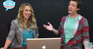Daily Rehash with Special Guest Haylie Duff Talking Twitter