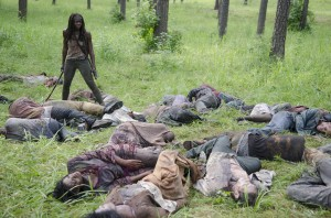 The Walking Dead came back as good and big as ever