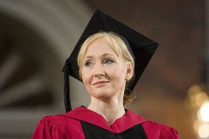 When someone speaks at Harvard – Best Commencement Speeches – JK Rowling
