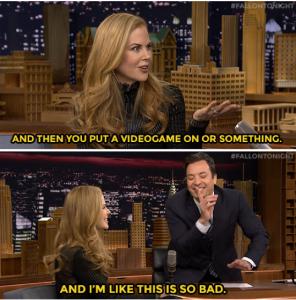 Jimmy Fallon blew the chance to date Nicole Kidman –  Hilarious clip