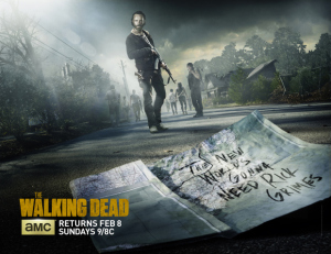 The Walking Dead returns February 8, and The New World's Gonna Need Rick Grimes