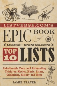 Listverse Epic Lists book review