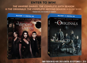 The Vampire Diaries / The Originals contest and giveaway