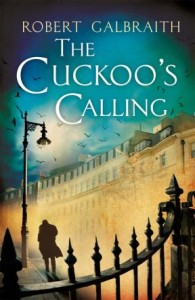 The Cuckoo´s Calling by Robert Galbraith book review