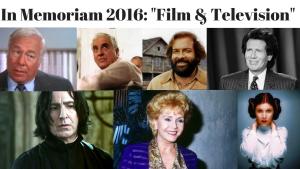 #InMemoriam2016 : Film And Television Stars We Lost