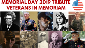 #MemorialDay Tribute 2019 – In memoriam Military veterans